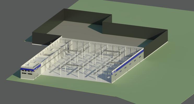 Tootmishoone I etapp Narvas